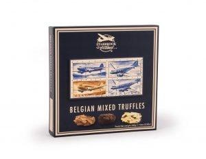 Verpakking van gemengde chocolade truffels