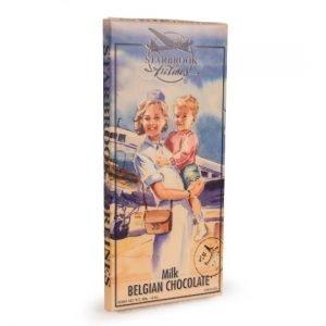 Verpakking van de Starbrook Airlines melkchocolade giant tablet