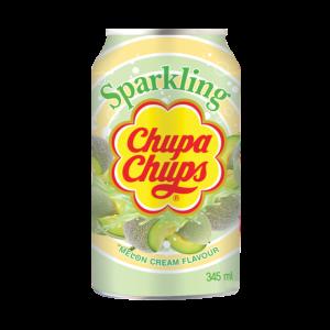 licht groen blikje chupa chups meloen