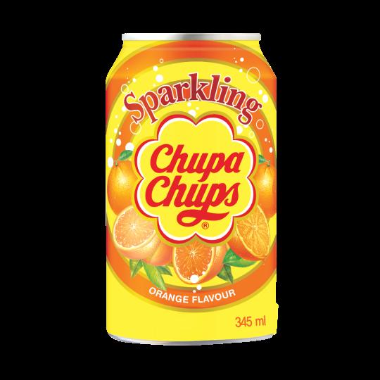 oranje blikje chupa chups sinaasappel