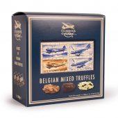 Emballage de truffes au chocolat mélangées